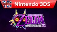 The Legend of Zelda Majora's Mask 3D - Announcement Trailer (Nintendo 3DS)