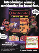 Nintendo Cereal System Ad