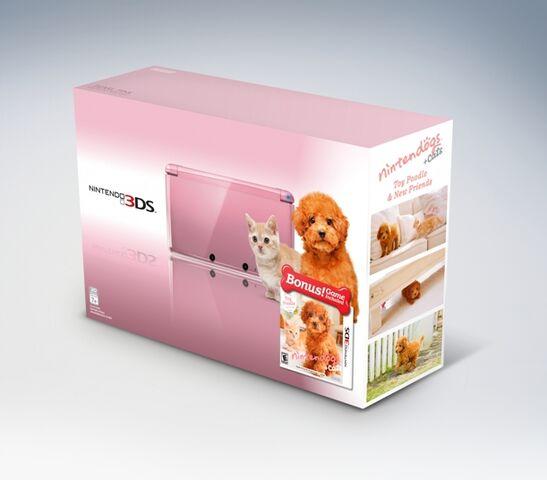 File:Pearl Pink Nintendo 3DS Bundle 1.jpg