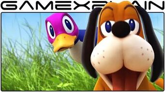 Duck Hunt in Smash Bros Wii U Trailer (High Quality!)