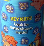 Pokemon Pasta Blue Back Cover