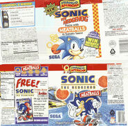 Sonic The Hedgehog Pasta Label Scans