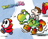 Yoshis Island DS Wallpaper 2