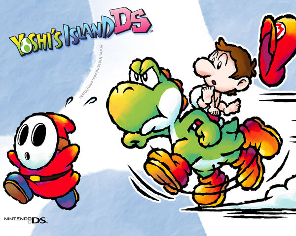 File:Yoshis Island DS Wallpaper 2.jpg