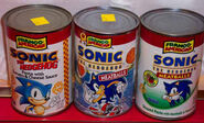 Sonic the Hedgehog Pasta All Cans