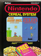 Nintendo Cereal System Cover 2