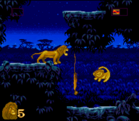 The Lion King SNES Captura 16