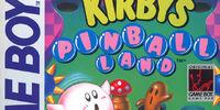 Kirby's Pinball Land