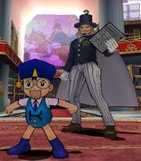 Mamodo Battles MODELS - Kido & Dr. Riddles