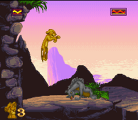 The Lion King SNES Captura 14