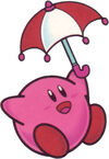 Kirby, el protagonista del juego.