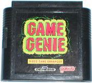 Game Genie - Mega Drive