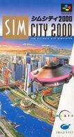 SimCity 2000 - portada SNES JAP
