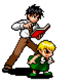 Zatch & Kiyo2 - KNGB Unare Yuujou no Zakeru 2