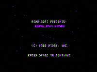 Galaxian Apple II TÍTULO