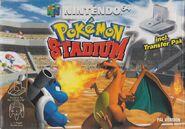 Pokémon Stadium - Portada EUR