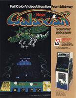 Galaxian folleto