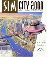 SimCity 2000 - portada DOS USA