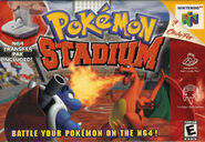 Pokémon Stadium - Portada