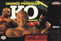 George Foreman's KO Boxing SNES portada