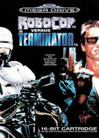 RoboCop Versus The Terminator portada Mega Drive