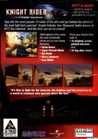 Knight Rider - The Game reverso PC