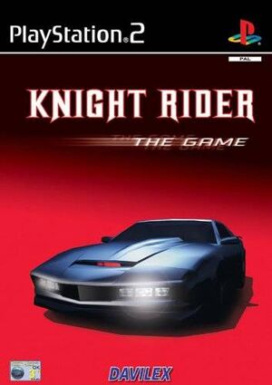 Knight Rider - The Game portada