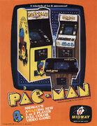 Pac-Man folleto Arcade