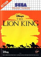 The Lion King portada MasterSystem EUR