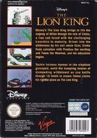 The Lion King portada NES EUR-b
