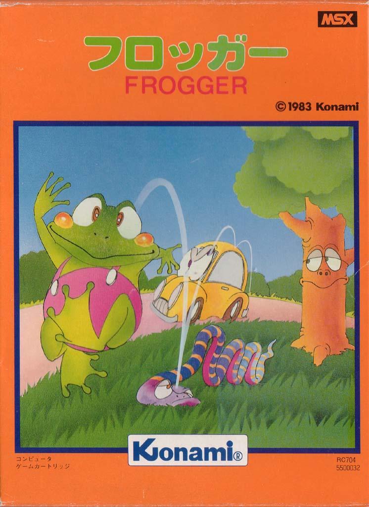 Resultado de imagen de frogger msx