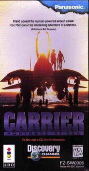 Carrier Fortress at Sea portada.jpg