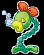 Kirby Mass Attack arte - Plantasoza