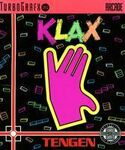 Klax Turbografx-16 portada