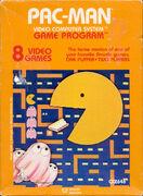 Pac-Man portada Atari 2600