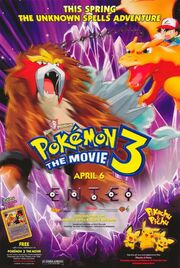 Pokémon 3 The Movie - Spell of the Unown