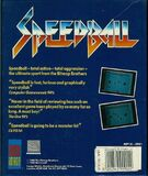 Speedball contraportada Amiga Ger