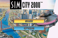 SimCity 2000 - GBA - título