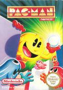 Pac-Man portada NES EUR