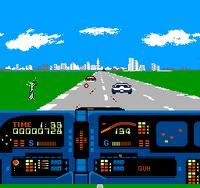 Knight Rider NES captura