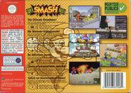 Super Smash Bros. - Portada EUR BACK