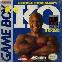 George Foreman's KO Boxing GB portada
