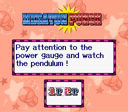 KirbySuperStarMegaton Punch