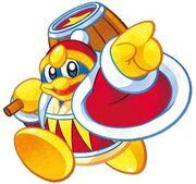 Kirby Mass Attack Rey Dedede