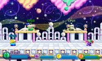 Kirby Fighters Deluxe - Bubbly Clouds