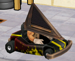 Krazy Kart Racing - Pyramid Head