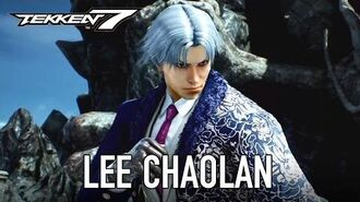 Tekken 7 - PS4 XB1 PC - Lee Chaolan Violet (Gamescom Character Reveal Trailer)