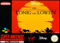 The Lion King portada SNES EUR