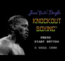 James Buster Douglas Knockout Boxing - título.png