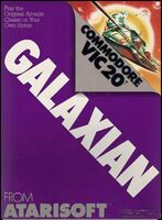 Galaxian VIC-20 portada